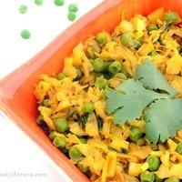 Cabbage Peas Stir-Fry