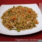 Whole-grain Chinese vegetable fried rice