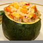 Stuffed Zucchini Tonde