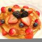 Fruit Buckwheat Pancakes