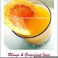 Mango & Grapefruit Juice