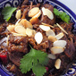Persian Chicken Stew with Pomegranate and Almonds