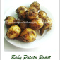 Baby Potato Roast With Mint & Pumpkin Seeds Powder