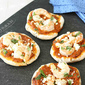 Mini Grilled Pizzas with Shrimp & Roasted Red Pepper Pesto Recipe