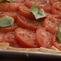 Tomato Cheese Tart