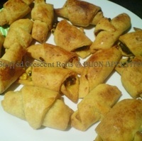 STUFFED CRESCENT ROLLS