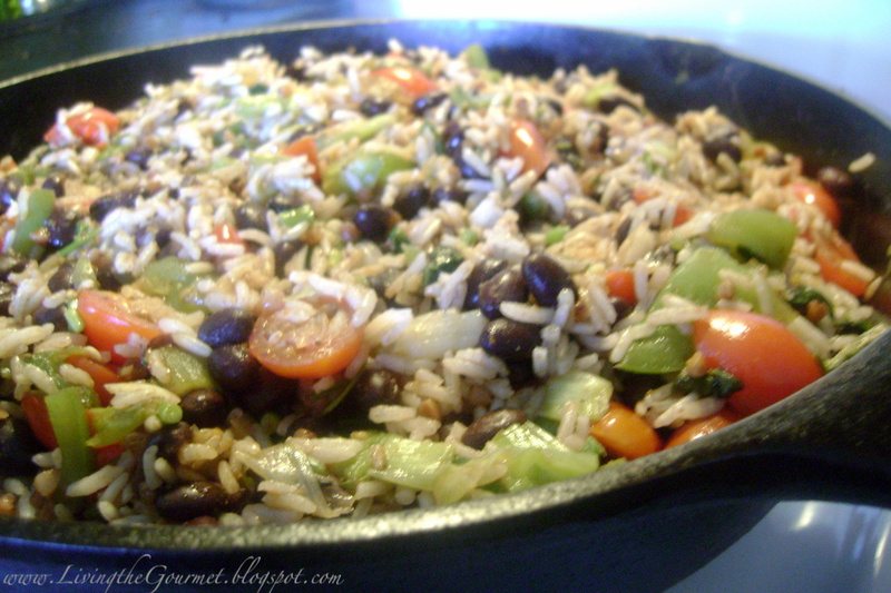 Quick & Easy ~ Black Beans & Rice! Recipe by Catherine ...