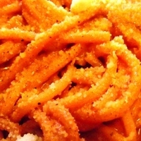 """Dominican style spaghettis (""""A la criolla"""")"""