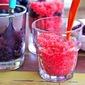 Strawberry And Blueberry Granita