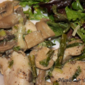 Chicken Breasts with Mushroom Cream Sauce (Healthy Options)