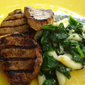 Medallions with Spinach and fioli