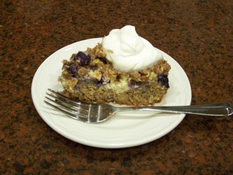 Low Carb Blueberry Coffee Cake Recipe By Pam Cookeatshare