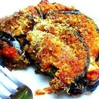 First Day of Summer! Grilled Eggplant Parmigiana
