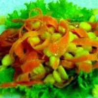 corn kernel and carrot salad