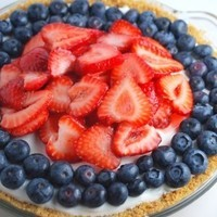 4th of July Recipe (Berry Cheesecake Pie)