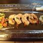 Grilled Shrimp w/ Melon Tarragon Salsa