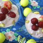 BERRY yogurt lemon Maple syrup Tiramisu-style PARFAIT