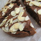 Chocolate Almond Creme Fraiche Cake