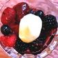 Macerated Summer Berries with Vanilla Cream