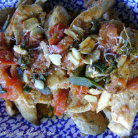 Boneless Chicken Breast with Fresh Tomatoes and Sage!!