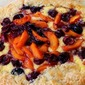 Cherry & Apricot Crostata with a Ricotta Filling