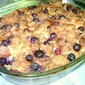 Blueberry Bread Pudding w/ Lemon Sauce + Weekend Fun