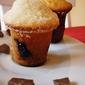 Muffins doughtnut ripieni di nutella