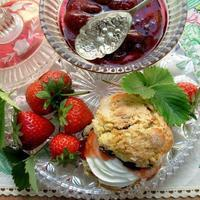Traditional Devon Cream Tea Strawberry Jam - Strawberry Conserve