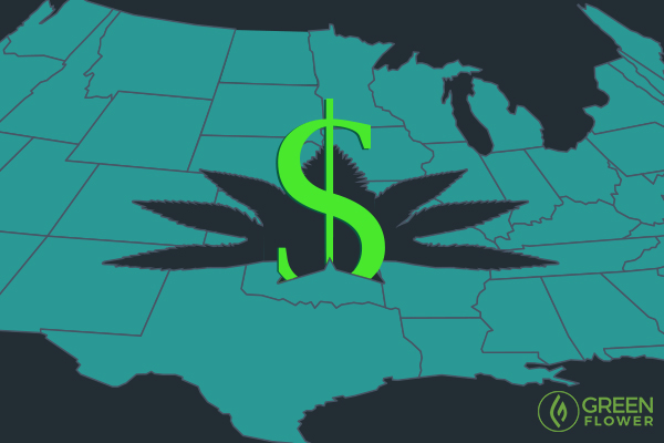 cannabis pricing in different states