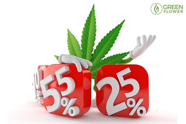 discounts on cannabis products