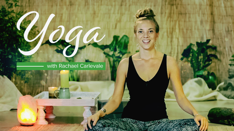cannabis yoga with Rachael Carlevale