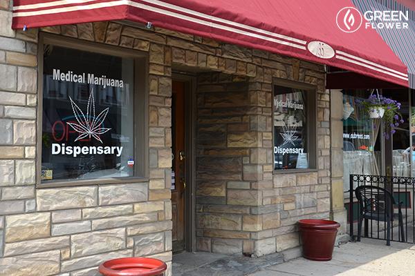 cannabis oil shop