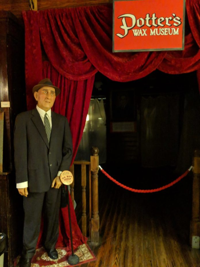 Discounted prices for Potter's Wax Museum a popular St. Augustine FL attraction