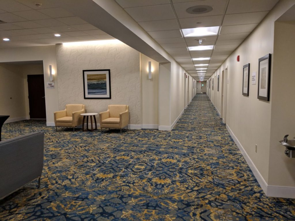 Crowne Plaza Pittsburgh near Bethel Park & South Hills Village mall is very huge and spacious with a convention center