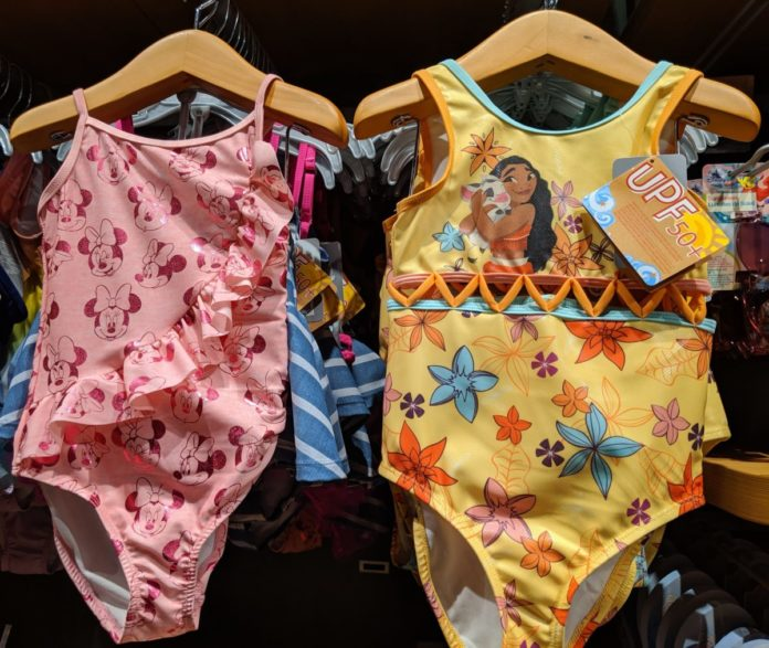 Enjoy great Disney swimwear for kids themed to Toy Story, Frozen, Cars, Star Wars, Moana, Tangled, Marvel, etc.