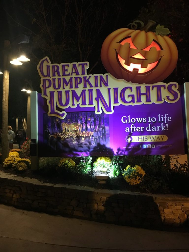 A definitive guide to the Great Pumpkin Luminights at Dollywood theme park in Tennessee