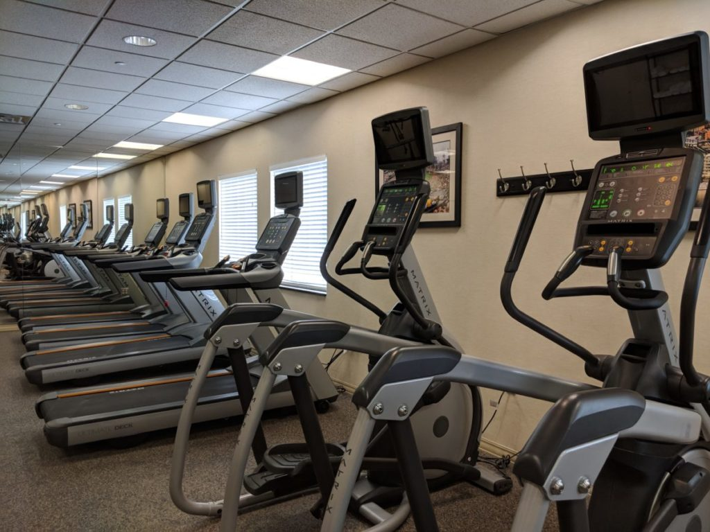 There's lots of equipment available at Crowne Plaza Pittsburgh Pennsylvania