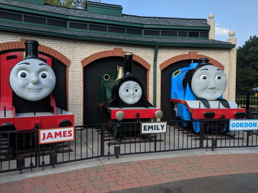 Crowne Plaza Pittsburgh South is a good hotel for seeing Thomas the Train Land at Kennywood theme park