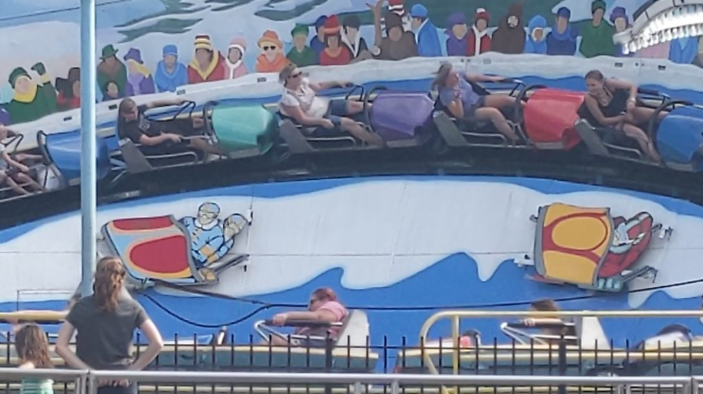 Bayern Kurve bobsled attraction at Kennywood amusement park