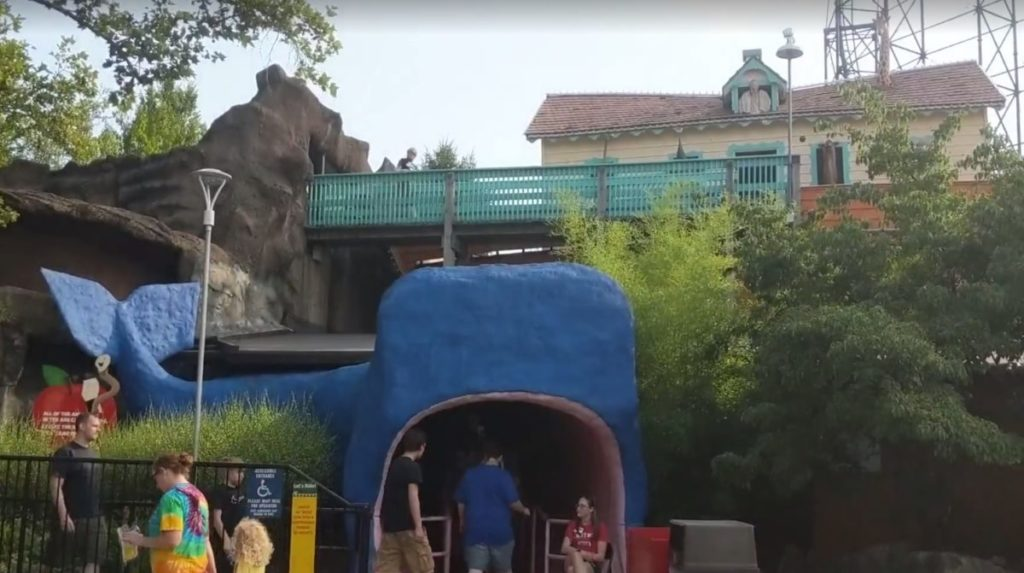 Noah's Ark funhouse attraction in Kennywood Park in Pittsburgh