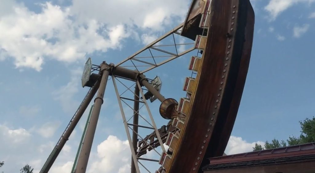 Pirate Amusement Park Ride at Kennywood Park in Pittsburgh
