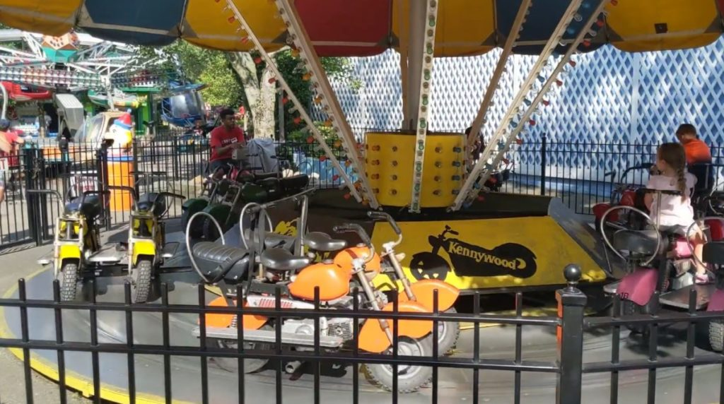 Steel City Choppers ride at Kiddieland in Kennywood of Pittsburgh