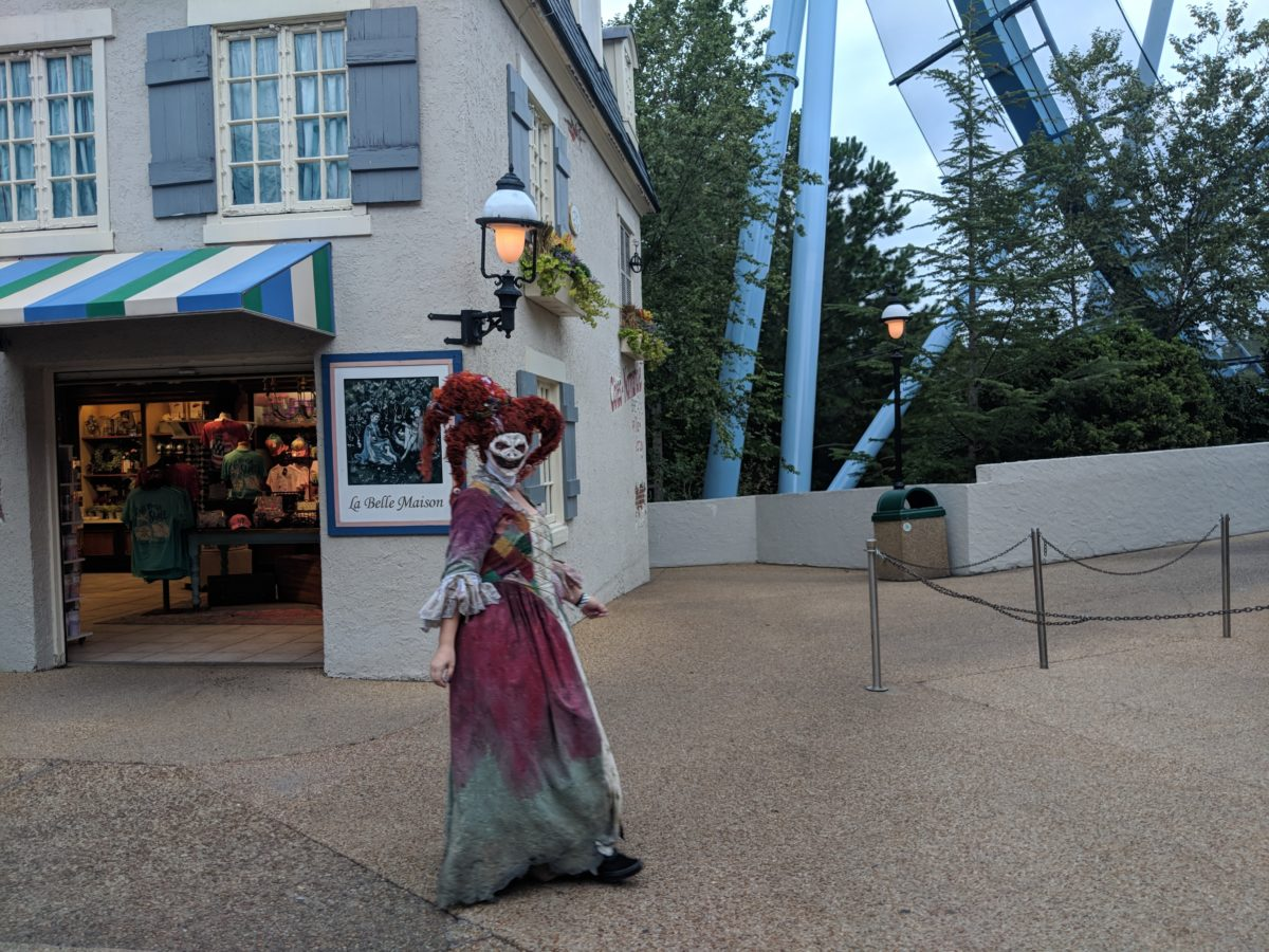 Fools Court in France is one of the scare zones at Busch Gardens Williamsburg's Howl o Scream Event