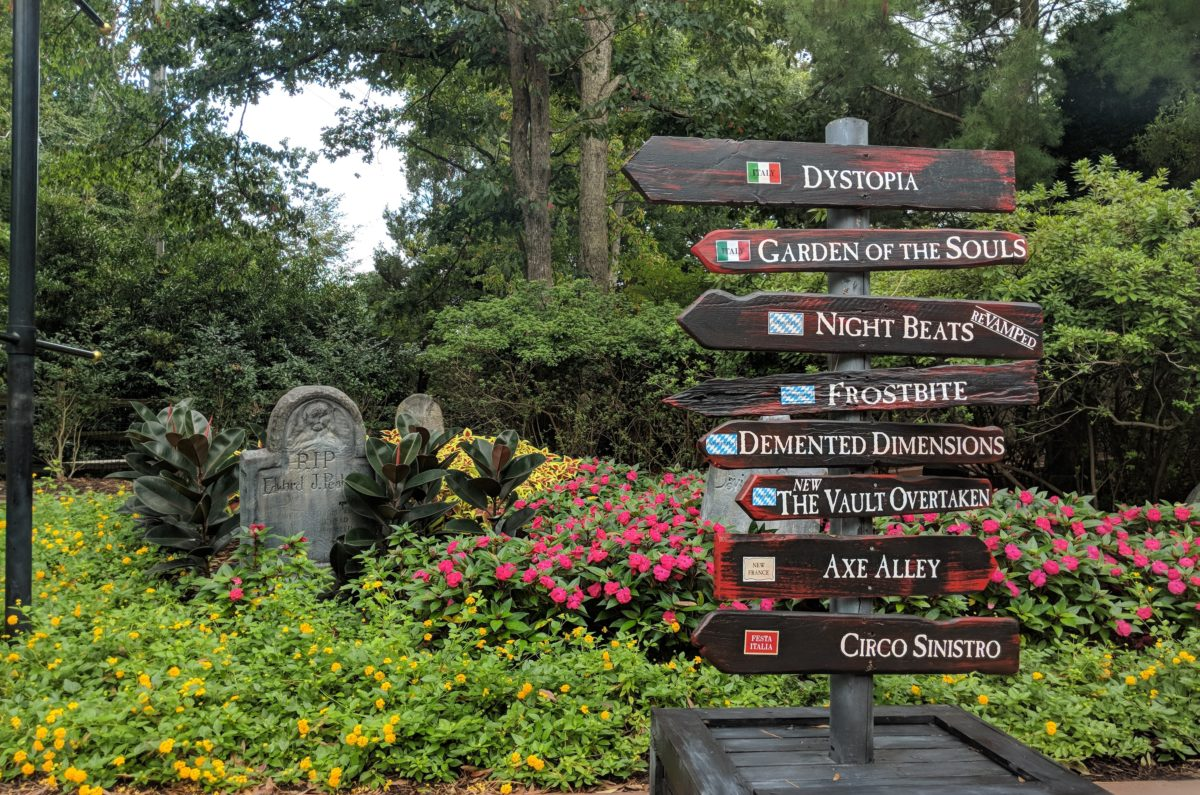 Busch Gardens Williamsburg's Halloween event, Howl-o-Scream, has lots of haunted houses