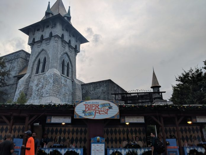 Find out why you should attend Busch Garden's Bavarian Oktoberfest themed beer festival which you can attend through September