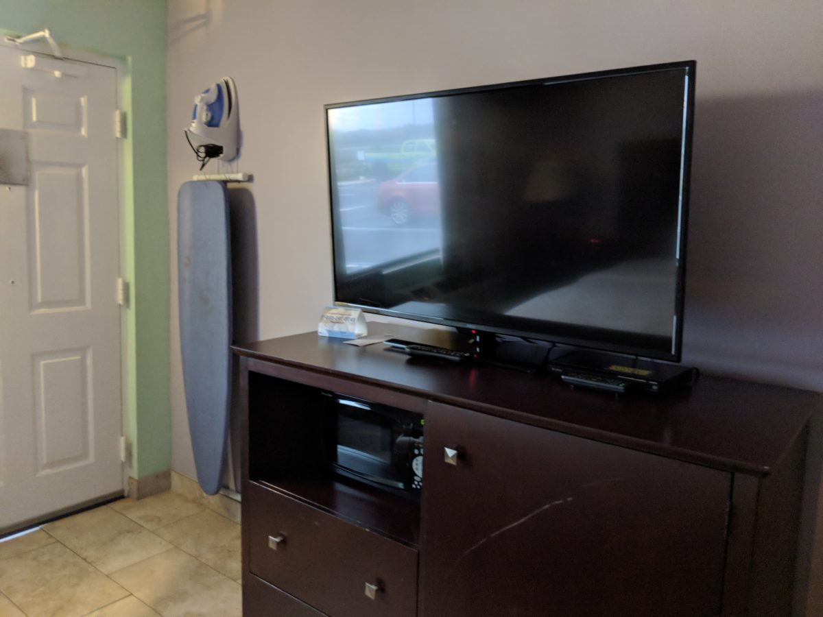 Enjoy a great hotel room with a huge TV at The Ponce St. Augustine Hotel