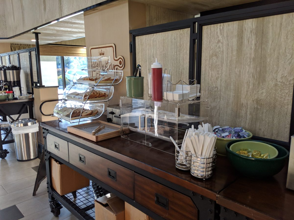 Ponce St. Augustine Florida hotel has a continental breakfast option