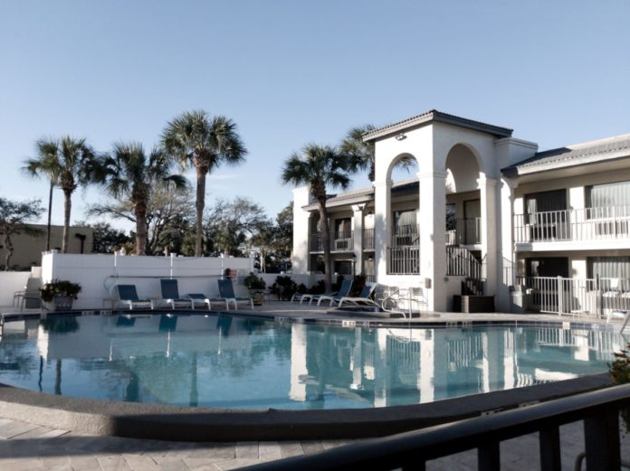 Ponce St. Augustine Hotel has a pool that's great for a summer vacation