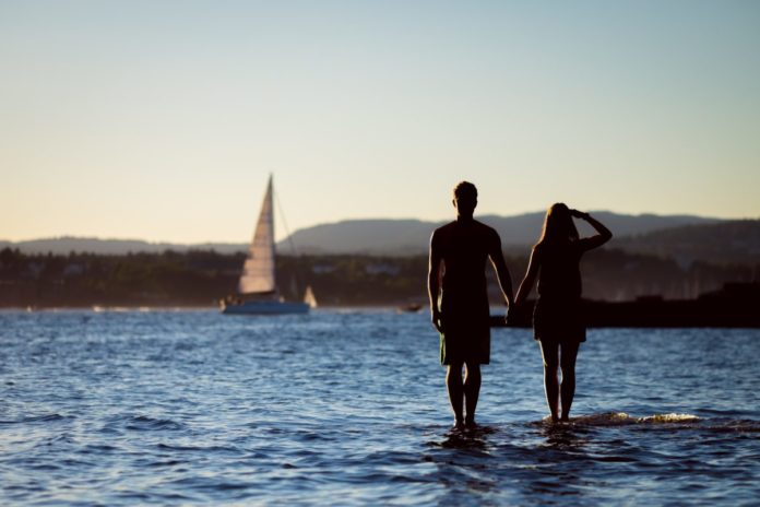 A picture of a couple in Oslo, Norway. Find out what the best romantic getaways in Oslo are