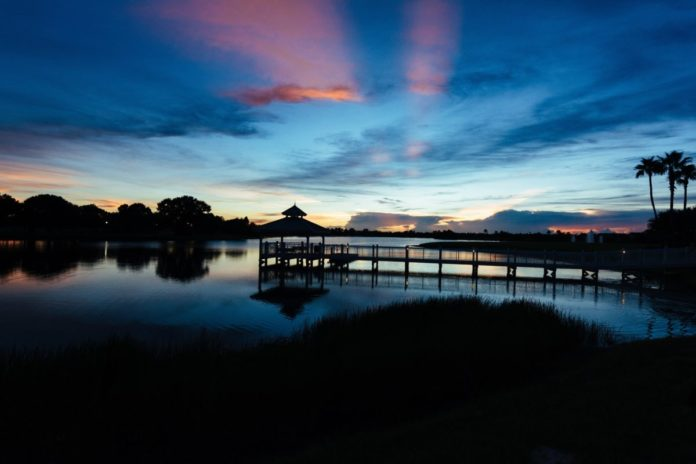 A picture of Port Saint Lucie, Florida at sunset. Find out what made our list of the best hotels there
